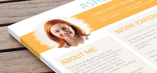 Advantages Of Using A Professional Resume Design Service Intended Resume Design Service